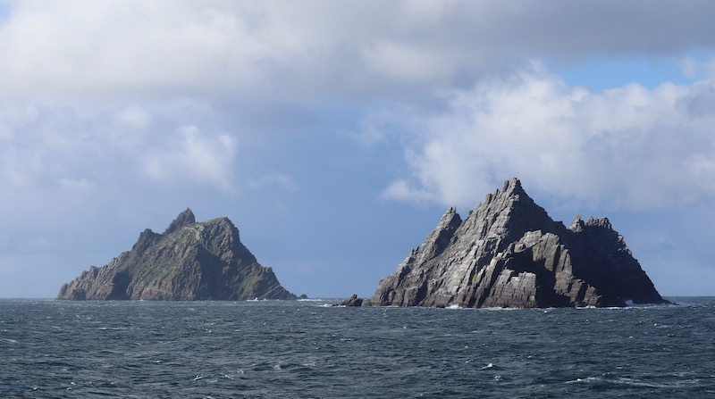 Skellig Islands from the water